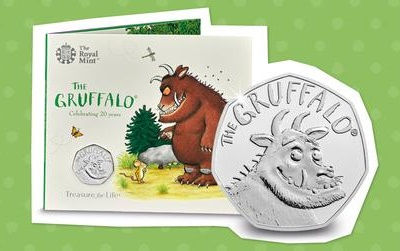 Brilliant Uncirculated Gruffalo 50p